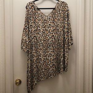 Lane Bryant animal print tunic. Size 26/28